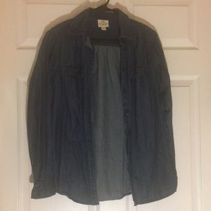 Women's light denim colored jacket size small